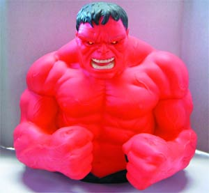 Marvel Bust Bank - Red Hulk