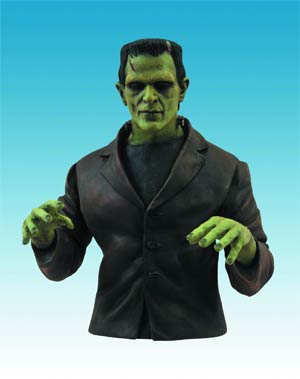 Universal Monsters Frankenstein Bust Bank
