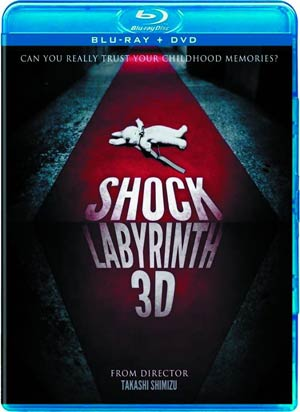 Shock Labyrinth 3D Blu-ray Combo DVD