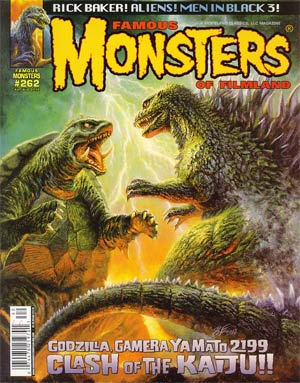 DO NOT USE (DUPLICATE LISTING) Famous Monsters Of Filmland #262 Jul / Aug 2012