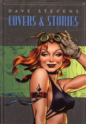 Dave Stevens Covers & Stories HC