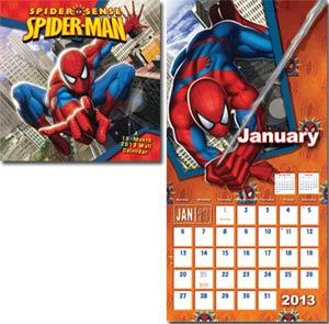 Spider-Man Spider Sense 2013 12x12-Inch Wall Calendar