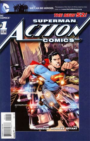 Action Comics Vol 2 #1 Cover H 5th Ptg Rags Morales We Can Be Heroes Variant Cover