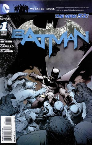Batman Vol 2 #1  Cover D 4th Ptg