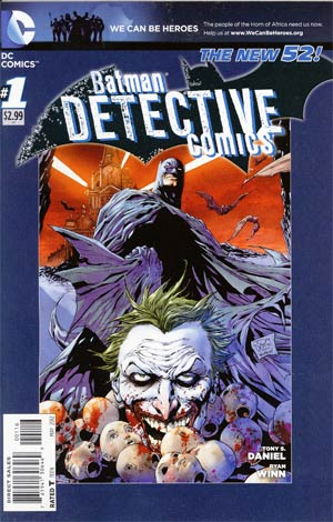 Detective Comics Vol 2 #1 6th Ptg
