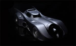 Batmobile 1989 1/6 Scale Model