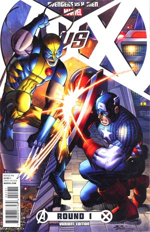 Avengers vs X-Men #1 Incentive John Romita Jr Variant Cover
