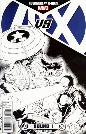 Avengers vs X-Men #1 Incentive Ryan Stegman Sketch Cover