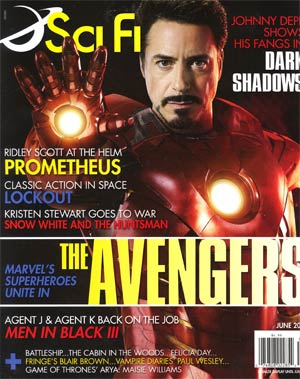 Sci-Fi Magazine Vol 18 #3 Jun 2012