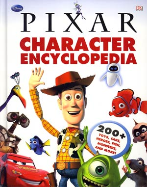 Disney Pixar Character Encyclopedia HC