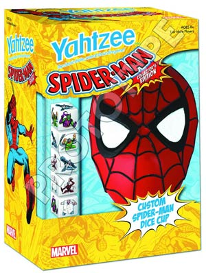 Yahtzee Spider-Man Collectors Edition