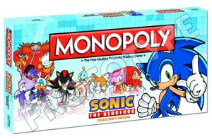 Monopoly Sonic The Hedgehog Collectors Edition
