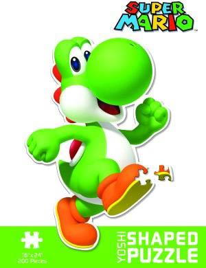 Yoshi Shaped 200-Piece Puzzle