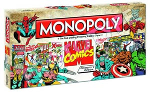 Monopoly Marvel Comics Collectors Edition