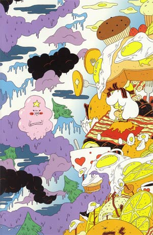 Adventure Time #3 Incentive Michael DeForge Virgin Variant Cover