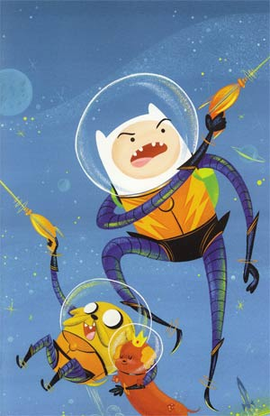 Adventure Time #3 Incentive Stephanie Buscema Virgin Variant Cover