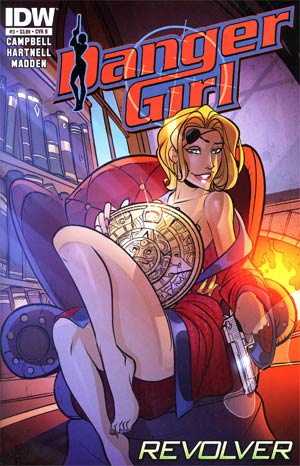 Danger Girl Revolver #3 Regular Chris Madden Cover