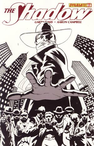 Shadow Vol 5 #1 Incentive John Cassaday Black & White Cover