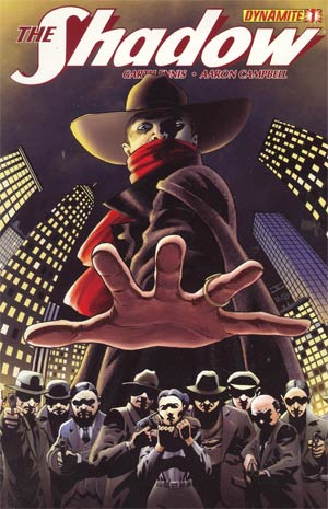Shadow Vol 5 #1 Regular John Cassaday Cover