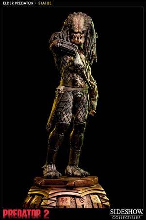Predator Elder Statue