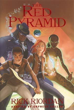 Kane Chronicles Vol 1 Red Pyramid HC