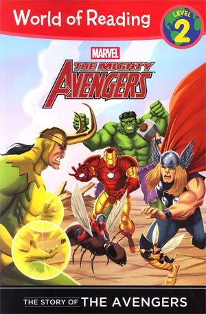 Mighty Avengers Story Of The Avengers Level 2 Reader TP