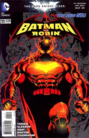 Batman And Robin Vol 2 #11 Cover A 1st Ptg