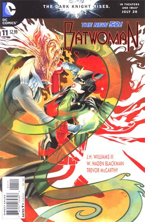 Batwoman #11 Regular JH Williams III Cover