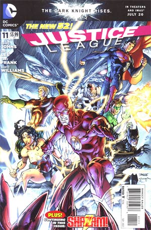 Justice League Vol 2 #11 Regular Jim Lee Cover
