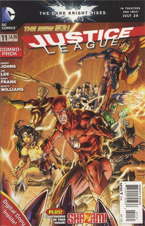 Justice League Vol 2 #11 Combo Pack With Polybag