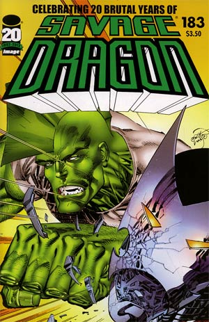 Savage Dragon Vol 2 #183 (Filled Randomly With 1 Of 2 Covers)