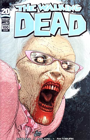 Walking Dead #100 1st Ptg Regular Cover C Frank Quitely