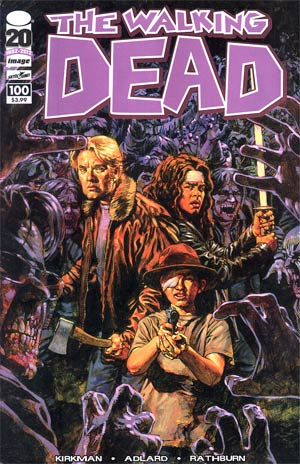 Walking Dead #100 1st Ptg Regular Cover E Sean Phillips
