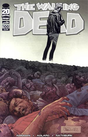 Walking Dead #100 1st Ptg Regular Cover H Charlie Adlard Wraparound