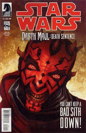 Star Wars Darth Maul Death Sentence #1