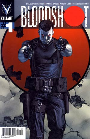 Bloodshot Vol 3 #1 Variant Mico Suayan Pullbox Cover