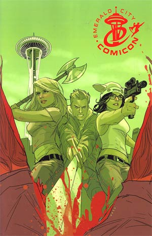 Fanboys vs Zombies #1 Emerald City Comicon Exclusive Virgin Variant Cover