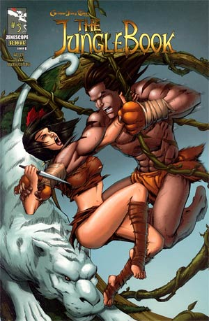 Grimm Fairy Tales Presents Jungle Book #5 Cover B Tommy Patterson