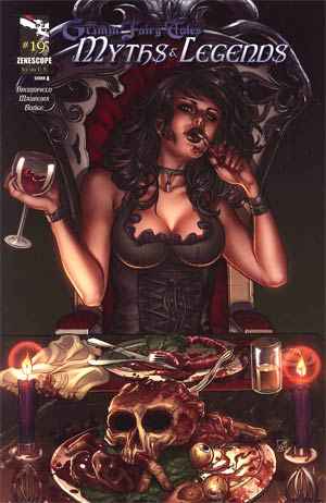 Grimm Fairy Tales Myths & Legends #19 Cover A Nei Ruffino