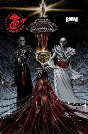 Clive Barkers Hellraiser Vol 2 #10 Emerald City Comicon Exclusive Variant Cover