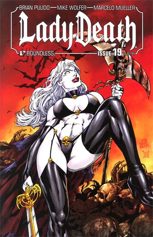 Lady Death Vol 3 #19 Regular Renato Camilo Cover