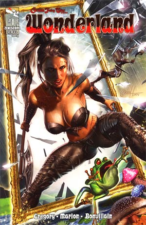 Grimm Fairy Tales Presents Wonderland Vol 2 #1 Cover B Greg Horn