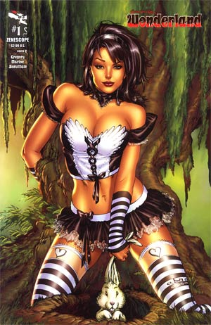 Grimm Fairy Tales Presents Wonderland Vol 2 #1 Cover C E-Bas