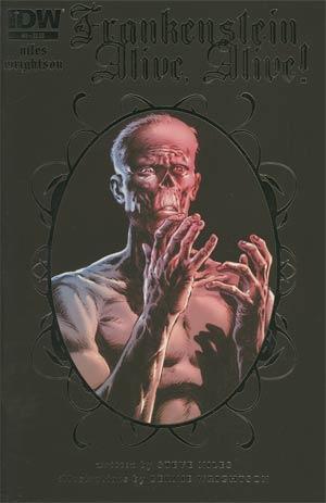 Frankenstein Alive Alive #2 Regular Bernie Wrightson Cover