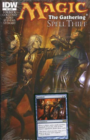 Magic The Gathering Spell Thief #3 1st Ptg Regular Matt Stewart Cover