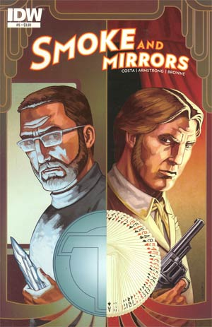 Smoke And Mirrors #5 Regular Ryan Browne Cover