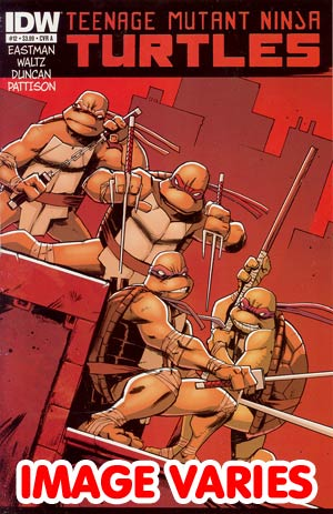 Teenage Mutant Ninja Turtles Vol 5 #12 Regular Cover (Filled Randomly With 1 Of 2 Covers)