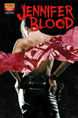 Garth Ennis Jennifer Blood #17 Regular Tim Bradstreet Cover