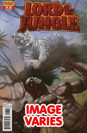 DO NOT USE Lord Of The Jungle #8 Regular Cover (Filled Randomly With 1 Of 2 Covers)