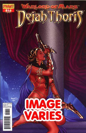 DO NOT USE Warlord Of Mars Dejah Thoris #17 Regular Cover (Filled Randomly With 1 Of 2 Covers)